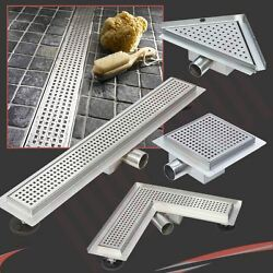 Easy Clean Stainless Steel Shower Wetroom Drainage System Various Styles And Sizes