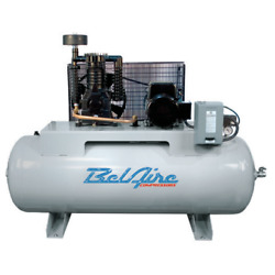 Belaire 5-hp 80-gallon Two-stage Air Compressor 208-230v 1-phase