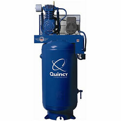 Quincy Qt Pro 7.5-hp 80-gallon Two-stage Air Compressor 230v 1-phase