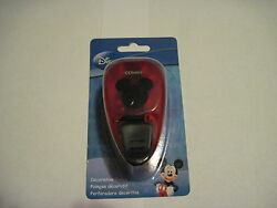 Scrapbooking Crafts Paper Punch Medium Disney Mickey Mouse Ears New 1 X 1