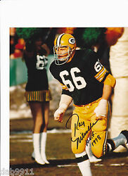 Ray Nitscke Packers Signed 8x10 Photo