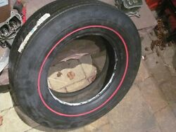 Nos D70 X 14 Red Line Good Year Tire 350 Ss