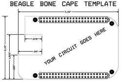BEAGLE BONE CAPE Printed Circuit Board Design Services by MSE Engineer