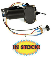 New Port Ne6066ct - 1960-66 Chevy And Gmc Truck Wiper Motor Points Towards Seat