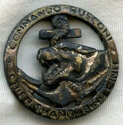 Extremely Rare 1950s North African-made Beret Badge For French 23rd Commandos