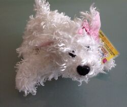 White Terrier HM106 Ganz Webkinz Day Extravaganza 2009 With Tags Stuffed Animal