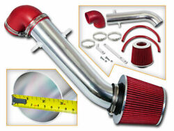 91-95 Jeep Wrangler 2.5 L4 And 4.0 I6 Short Ram Air Intake Kit + Red Filter