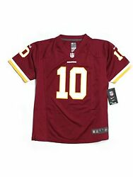 New Youth Washington Redskins Rg3 Griffin Iii 10 Football Jersey Size L 14/16
