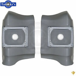 1967 Chevelle Quarter Panel Taillight Tail Light Lamp Housing Extension - PAIR