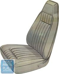 70-71 Barracuda Gran Coupe Leather Black Bucket Seat Cover And Hardtop Rear - Pui