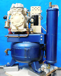 Dental Office 1 Hp Compressor, 115v, Must See, 2 Available 7623,7625