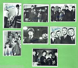 D47. 3. Lot Of Seven 1960s Beatles Trading Cards
