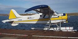 Dhc-2 Beaver De Havilland Canada Airplane Handcrafted Wood Model Large New
