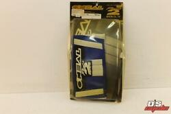 New Oneal Pro 2 Series Kids Belt 22- 26 Blue And White 0725-228