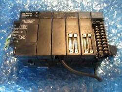 Ge Fanuc 90-30 Series Base 5 W/ps/cpu 331/co0mm/in/out/bus Controler Look Inside
