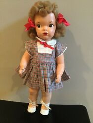 Doll Terri Lee Painted Patent Pending Lincoln Nebraska Doll 1940and039s