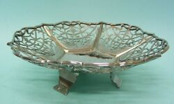 Sterling Silver Sweetmeat Dish Bowl By Cooper Bros And Sons Sheffield England 1932