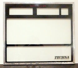 Rock-ola 480 Techna Part For Sale - Front Door Techna Glass - Local Pick-up