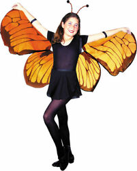 Morris Costumes Girl's Elastic Shoulder Wrist Straps Butterfly Wings. MR153001