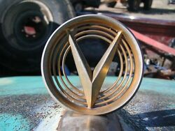 55 1955 Buick Very Nice Hood Ornament And Letters  -no Reserve-