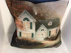 Blessing Of Autumn Pillow Tapestry Throw
