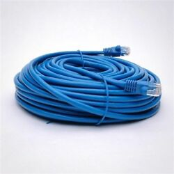 50 Pack Lot - 100ft CAT6 Ethernet Network LAN Patch Cable Cord 550MHz RJ45 Blue