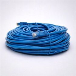 20 Pack Lot - 200ft CAT6 Ethernet Network LAN Patch Cable Cord 550MHz RJ45 Blue
