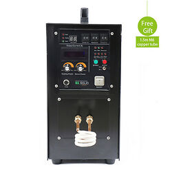 25KW 30-80 KHz High Frequency Induction Heater Furnace LH-25A CE Certificate