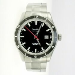 Eberhard And Co Champion V Timeonly Swiss Automatic Movement - Steel Bracelet