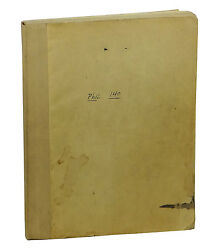 Theory Of Deduction By Willard Van Quine First Edition 1948 Methods Logic 1st