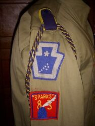 Wwii Boy Scouts Of America Official Uniform Shirt With All Kinds Of Insignia