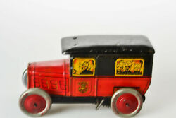 tin toy pre war rossignol fire engine