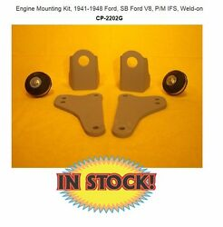 Chassis Engineering Cp-2202g - 1941-48 Ford Sb Ford Weld-on Engine Mounts