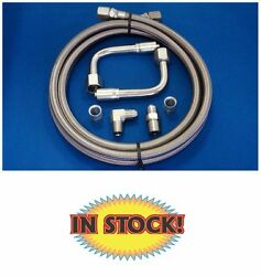 Gotta Show 343300 - Braided Heater Hose With 3/8 Intake Fitting - Stainless