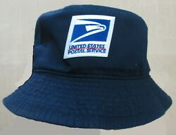 USPS United States Postal Service Blue Bucket Hat lg xl $14.95