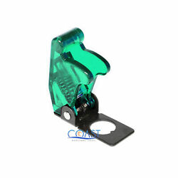 Car Marine Off Road Safe Flip Toggle Switch Safety Cover Guard - Green