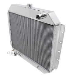 Exact Fit,1966 1967 1968 1969 1970 -79 Ford F-100 Pickup 3 Row Rs Radiator V8