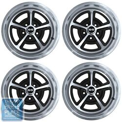 1964-81 Chevrolet Magnum 17 X 7 Wheels - Machined Face - Set Of 4