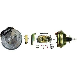 64-74 Gm Wilwood Front Disc Brake Conversion Kit W/stock Spindles No Booster