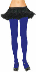 Morris Costumes Women's New Nylon Opaque Tights Royal Blue One Size. UA12RO
