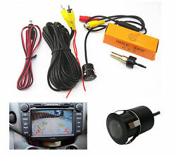 Car Suv Vehicle Front Rear Ccd Reverse Back Up Parking Camera Waterproof