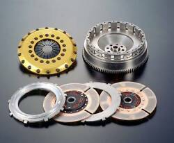 Os Giken Tr Series Dampened Twin Plate Clutch For 1jz-gte Jza70 Ty021-bf6