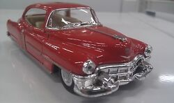 1953 cadillac red kinsmart toy model 1 43