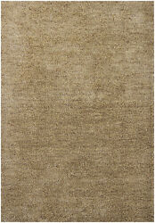 8x11and039 Chandra Rug Sterling Hand-woven Contemporary Shag Polyester Ste21800-791