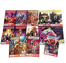 Marvel Now Comics Guardians Of The Galaxy Set Lot Issues 0.1,1-13, 15, Avengers