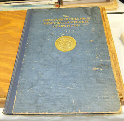 1928 Book/christopher Columbus Memorial Lighthouse Design Competition