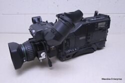 Sony Digital Video Camera Model Dxc-d35 With Canon Bctv Zoom Lens