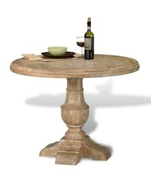 40 Rosaura With Friends Dining Table Natural Distressed Brown Finish Mango