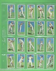 T52. Two Sets Of Fifty Cricket Cigarette Cards - Cricketers 1930 And 1934