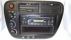 Honda Civic 99-00 OEM Center Dash Control Bezel TrimClimate ControlCD Stereo